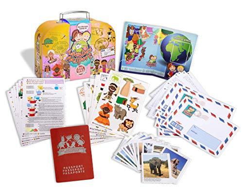 Adventure Passports- Pasaporte a La Aventura Geo Discovery Juguete educativo, Multicolor (World Alive 5002) , color/modelo surtido