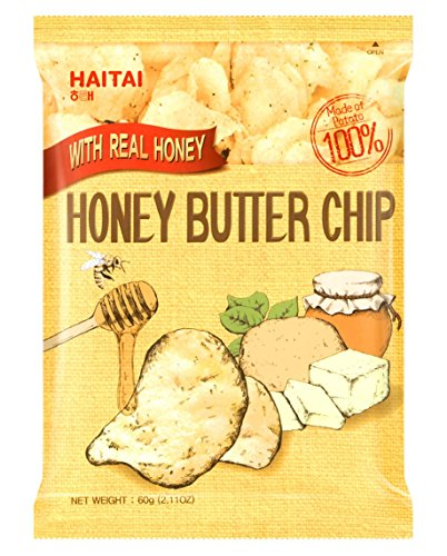 1 Pc Honey Butter Chip New Korea Potato Snack (60g X 1)