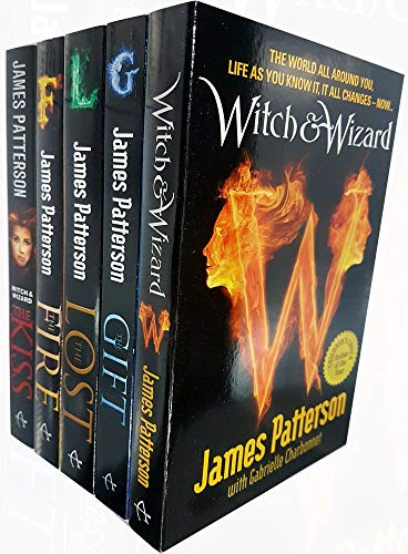 James patterson witch & wizard series 5 books collection set