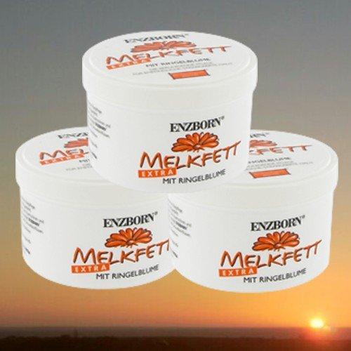 3er Pack Enzborn Melkfett EXTRA mit Ringelblume je 250 ml (3 x 250ml)