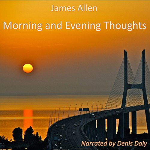 Morning and Evening Thoughts audiobook cover art