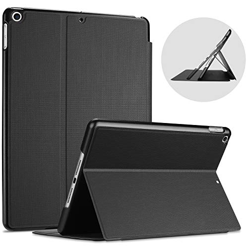 ProCase iPad 102 Case 2019 7th Gen iPad Case Slim Stand Protective Case Folio Cover for 2019 Apple iPad 102 Inch 7th Generation –Black