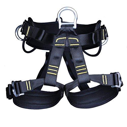 XZANTE Arnes de Escalada Arneses Equipos Cinturones de Seguridad Rappe