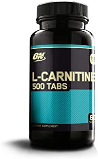 OPTIMUM NUTRITION L-Carnitine 500mg Tablets, 60 Count