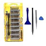 TedGem 64 en 1 Destornilladores de Precisión, Magnética Destornillador Set, kit de destornilladores herramienta de reparación profesional para dispositivos electrónicos, ordenadores y iPhone