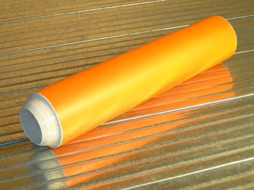 Viperstreifen matt orange Auto Folie Glas Lack 20cm x 400cm