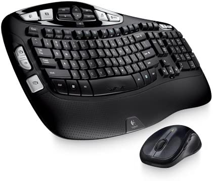 Spring new work one after another Logitech Wireless Gifts Wave MK550 Combo
