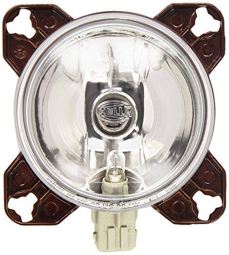 HELLA 1K0 008 191-007 FF/Halogène-Optique, projecteur longue portée - 90mm Essential - 12V - rond - Chiffre de référence: 12.5 - Montage encastré - disperseur limpide - gauche/droite - Unité d'emballage - Quantité: 36
