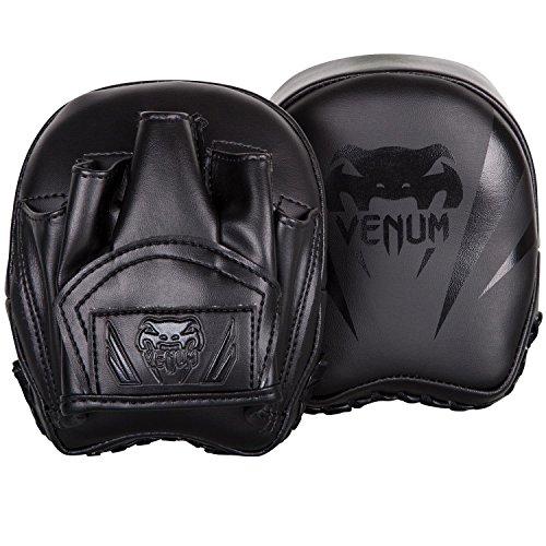 Venum Elite Mini Punch Mitts - Black/Black - One Size