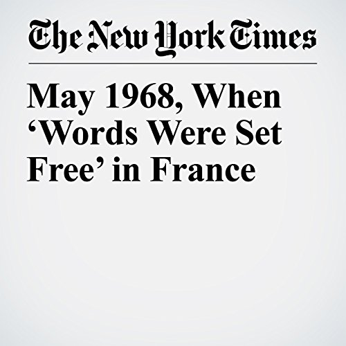 May 1968, When 'Words Were Set Free' in France copertina