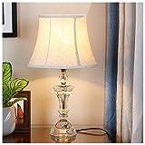 YYF Mode Kristall Tischlampe - Schlafzimmer Nachttischlampe - Wohnzimmer warm romantisch - rote Hochzeitsidee (Durchmesser 11,8 Zoll) (Color : D)