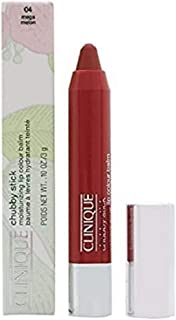 Clinique Chubby Stick Moisturizing Lip Colour Balm - 04 Mega Melon for Women - 0.1 oz Lipstick, 2.96 milliliters