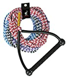 Airhead 4 Section Water Ski Rope , Black, 75 ft Length