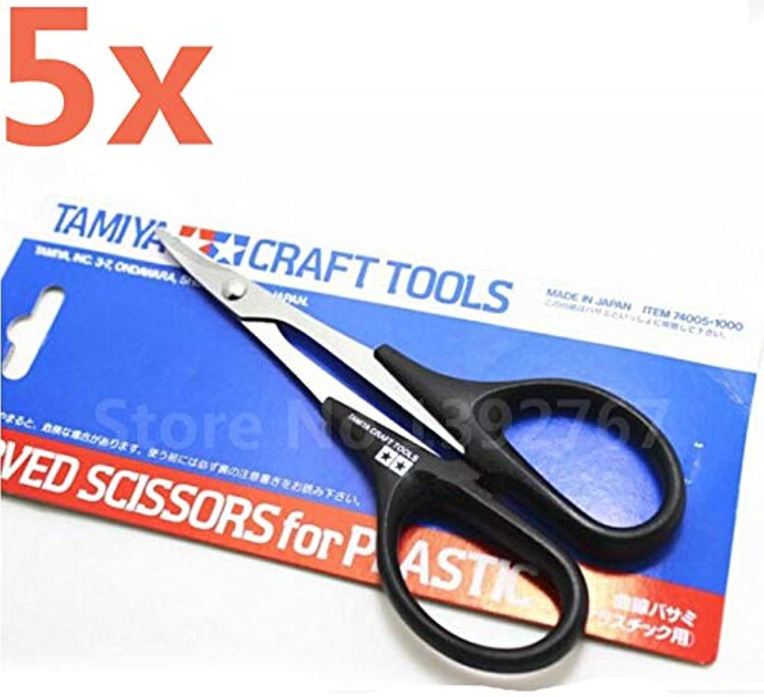 Generic 5p Tamiya Metal Hard Stainless Steel RC Car Scissor Toll 74005 for RC Vehicle Boat Body Shell Bodyshell Curved Scissors RC Tool