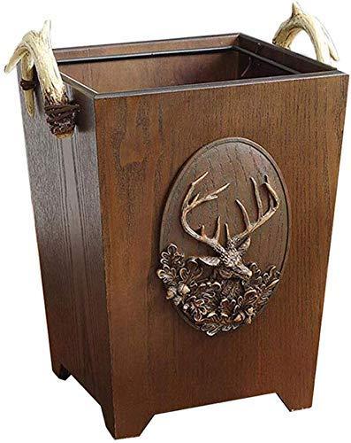 Asbakken, Creative vuilnisbak vuilnisbak roestvrij stalen asbak grote garbage garbage externe garbage (kleur: zilver) Home Decoration Present Gifts