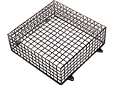 TC231- SECURITY ALARM <span class='highlight'>BELL</span> BOX PROTECTION GALVANIZED BLACK CAGE 39CM X 39CM X 14CM