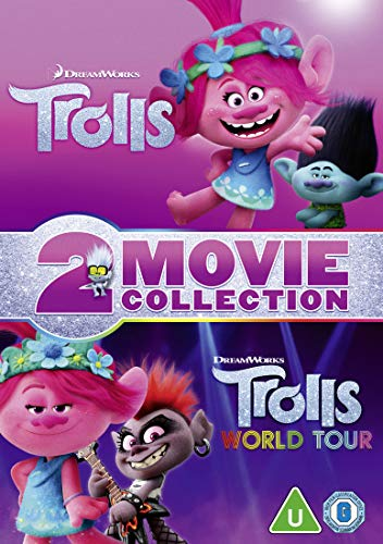 Trolls & Trolls World Tour Double Pack (DVD) [2020]