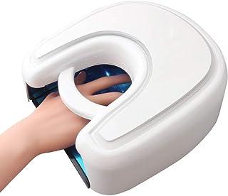 YJF-GLJ 48W UV LED Lámpara Secadora de uñas Máquina de curado Profesional de Gel de uñas de los pies con 4 ajustes de Temporizador 5/15/30/60 s, 21 Piezas de luz LED