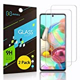 Didisky Pellicola Protettiva in Vetro Temperato per Samsung Galaxy A71, [2 Pezzi] Protezione Schermo [Tocco Morbido ] Facile da Pulire, Facile da installare, Trasparente