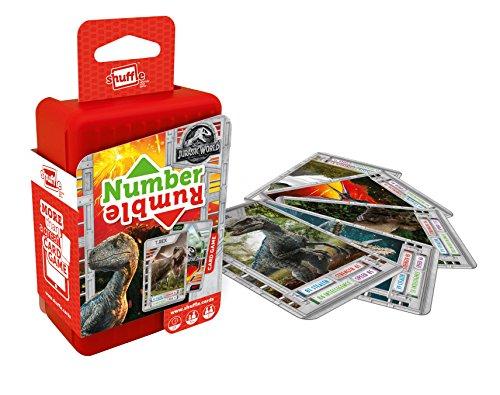 Shuffle 100241004 Jurassic World Card Game, Multi Coloured