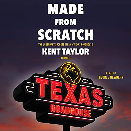 Made from Scratch Audiobook By Kent Taylor cover art