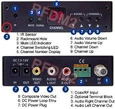 Analog CATV UHF VHF TV Tuner with Composite RCA A/V Output for North America Region