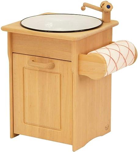 Unbekannt KinderspÃle   KüchenspÃle für Kinderküche inkl. Handtuchhalter   Material  Erle   Ma 38 x 37 x 46cm   Farbe  Natur   Gewicht  5,5 kg
