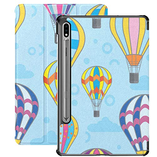 Dibujos Animados Lindo Globo Infantil romántico Samsung Galaxy S7 Plus Funda para Samsung Galaxy Tab S7 / s7 Plus Funda Galaxy 7 Soporte Funda Trasera Samsung Tablets Funda para Galaxy Tab S7 11 pulg