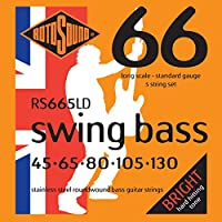 ROTOSOUND/ロトサウンド ROT-RS665LD [45-130] 5弦用ベース弦