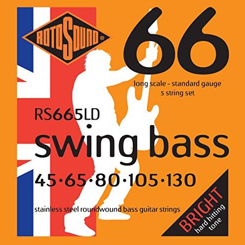 Rotosound RS665LD - Juego de cuerdas para bajo