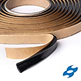 """Second Skin Butyl Sealant Tape – Butyl Rubber Sealant and Multi-Purpose Butyl Rope for All Vehicles (Car, RV, Marine) – 1/4"""" x 1/2' x 20' – Made in The USA"""