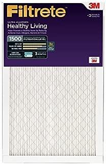 Filtrete 20x25x1, AC Furnace Air Filter, MPR 1500, Healthy Living Ultra Allergen, 6-Pack