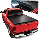 Tri-Fold Adjustable Soft Top Trunk Tonneau Cover Replacement for Ford F250/F350 Super Duty 6.5 Ft Bed 99-16