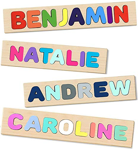 Wooden Personalized Name Puzzle - Choose...