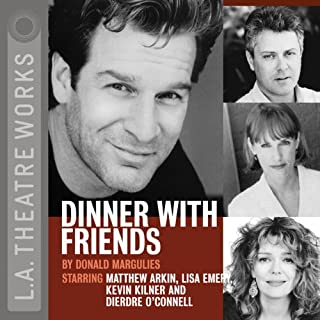 Dinner with Friends audiobook cover art