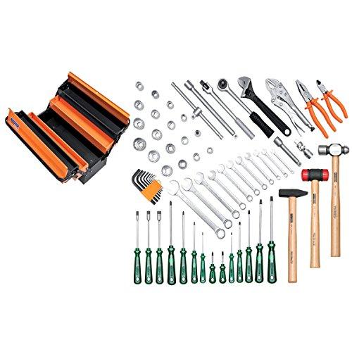 Caixa Sanfonada com 5 gavetas e 65 Ferramentas-Tramontina PRO-44952065