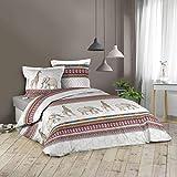Ropa de cama de 3 piezas, 240 x 220 cm, desertica