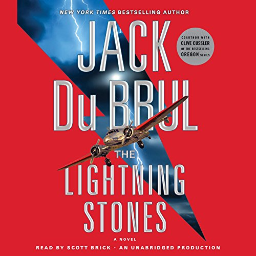 The Lightning Stones audiobook cover art