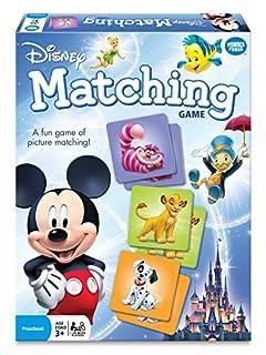 اسعار Wonder Forge Disney Classic Characters Matching Game for Boys & Girls Age 3 to 5 - A Fun & Fast Disney Memory Game