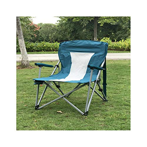 ZUQIEE Silla de comedor al aire libre plegable silla de camping verde silla de camping equipo de playa silla director silla de arte boceto de pesca silla