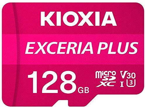Kioxia Exceria Plus - Tarjeta microSD de 128 GB