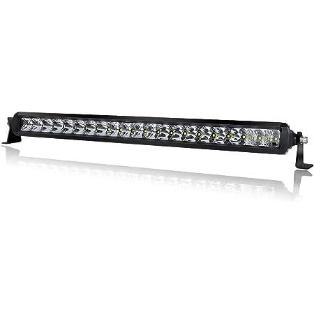 Yellow Ultra Slim 20/'/' 200w Single Row LED Work Light Bar Offroad Truck Amber H5