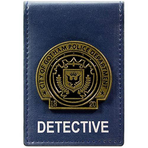 DC Comics Batman Gotham City Detective Badge Bleu Portefeuille