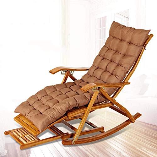 Bambus-Lounge-Stuhl Faltbürste Mittagessen Pause Stuhl Balkon Alt Mann Mittagessen Pause Stuhl Alter Mann Mittagspause Couch Bambus Chai MISU