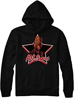 Infrared 6 All Star Hoodie to Match Jordan 6 Infrared Sneakers