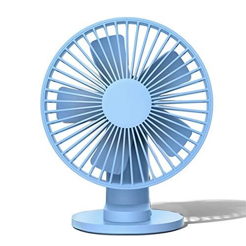 Mini ventilador de escritorio portátil ventilador Ventilador de sobremesa USB de sobremesa con pinza giratoria 90 ° 3 modos de velocidad del viento Ventilador de enfriamiento for oficina en el hogar