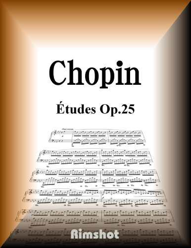 Chopin Etudes Op25 for Piano Solo (Japanese Edition)