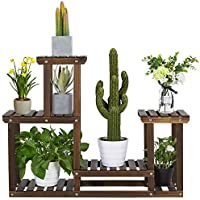 Yaheetech Multi Layer Shelving Unit for Indoor Outdoor Plants