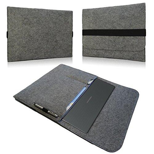 NAUC Notebook Sleeve Hülle Medion Akoya E6432 15,6 Zoll Tasche Laptop Filz Cover Hülle