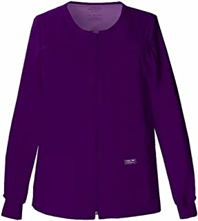 Cherokee Women's Workwear Core Stretch Warm Up Scrubs Jacket